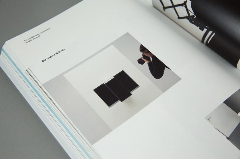 Layout und Dokumentation der Produktpräsentation für eva
