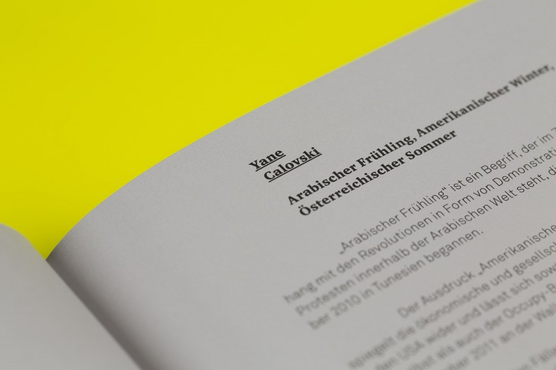 Layout und Grafikdesign für Ausstellungskatalog Salzburger Kunstverein